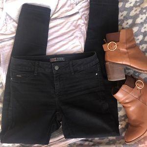 EUC⭐️ Zara Basic Black Jeans